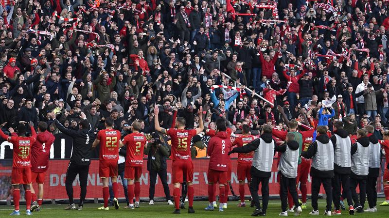 Nombre de spectateurs de la 15ème journée de Jupiler Pro League
