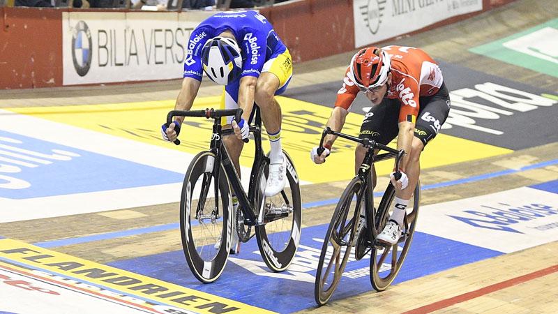 De Ketele et Ghys s'imposent dans le dernier sprint