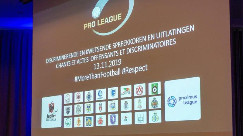 Pro League stelt handleiding tegen racisme en discriminatie voor