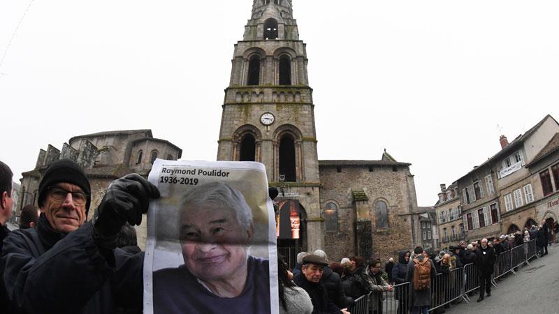 Wielerwereld zegt Raymond Poulidor vaarwel