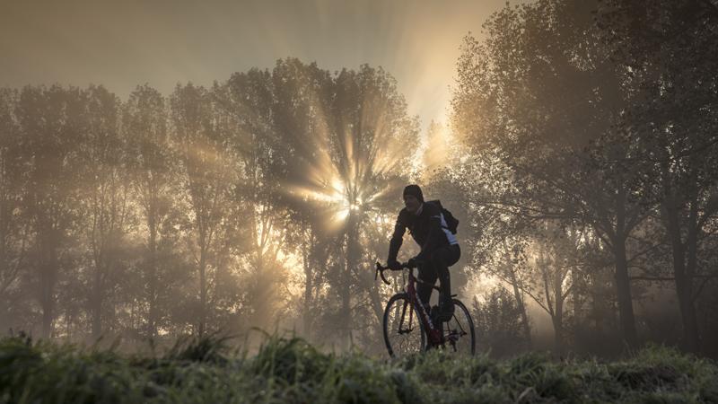Anders eten op de fiets bij koud weer?