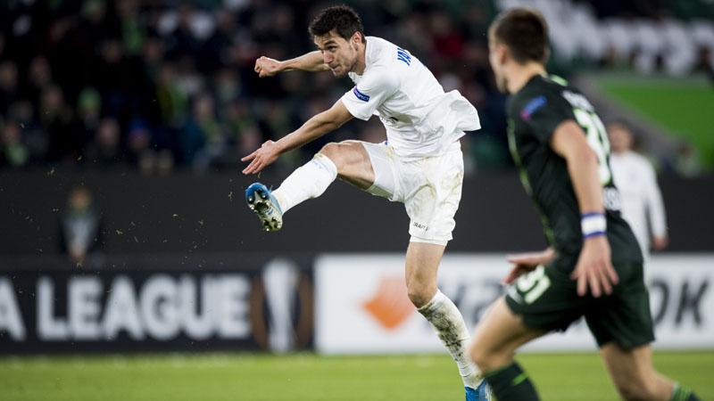 Gent boekt knappe uitzege tegen Wolfsburg - Sport.be