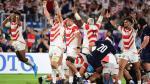 Rugbydelirium voor Japan na clash met Schotland