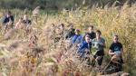 Courir et marcher dans une oasis de verdure cachée lors du Havenland Run & Walk