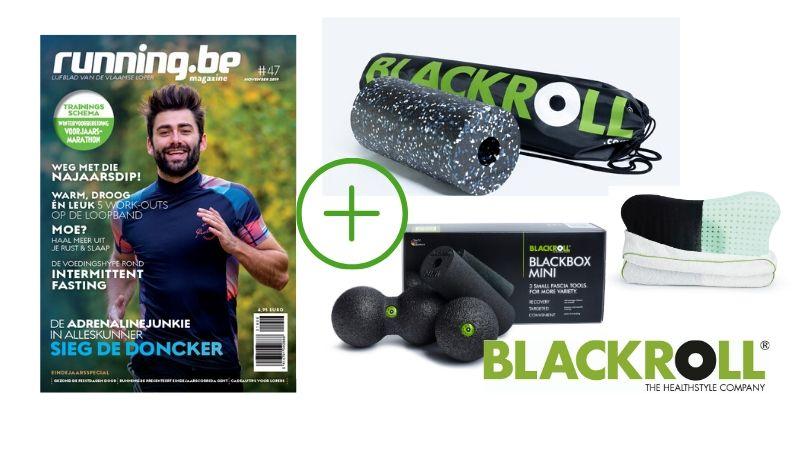 Voor nieuwe abonnees: Blackroll Standard foam roller & Blackbox Mini