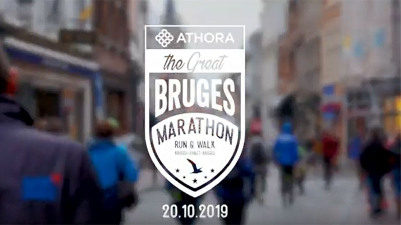 Athora Great Bruges Marathon 2019 - Aftermovie