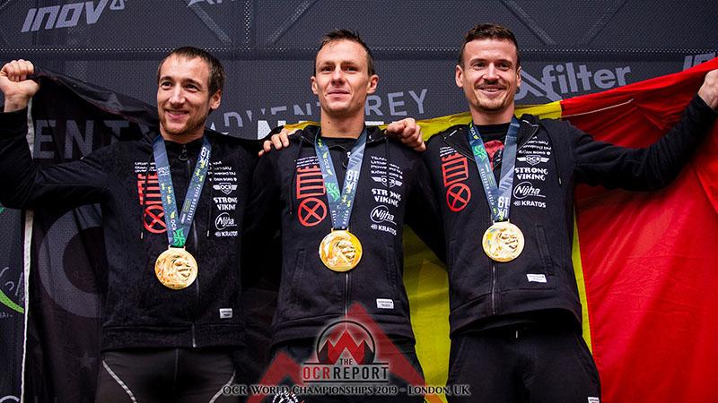 Belgen veroveren 5 medailles op WK Obstacle Running
