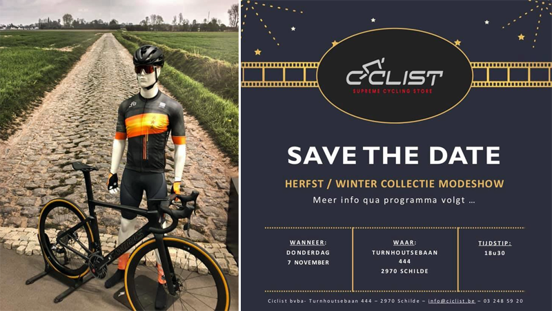 CICLIST: Winterse modeshow op 7 november met Cameron VDB, Stybar, Herygers ...