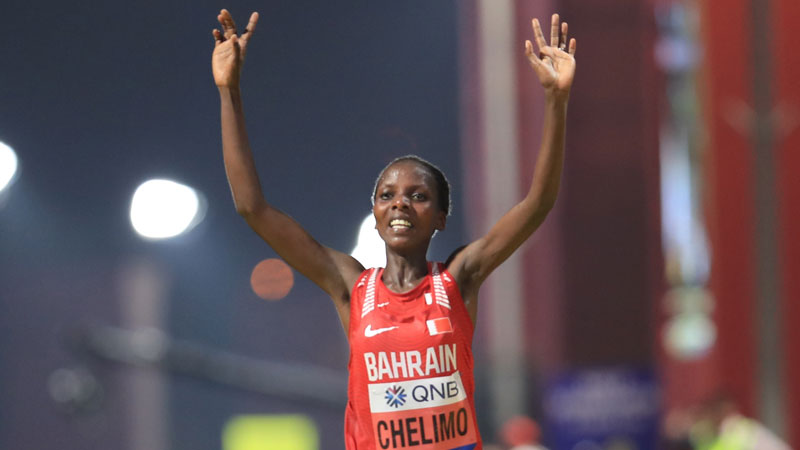 Chelimo, Krause, and Rotich each reach podium at the IAAF World Championships in Doha