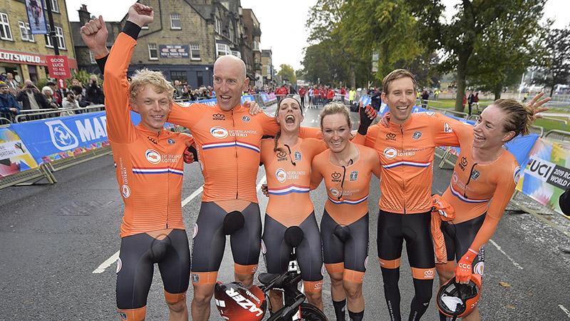 Les Pays-Bas champions du monde par équipes mixtes