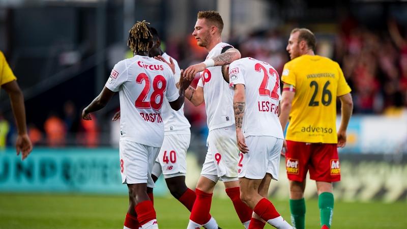 Le Standard s'impose à Ostende et conforte sa première place