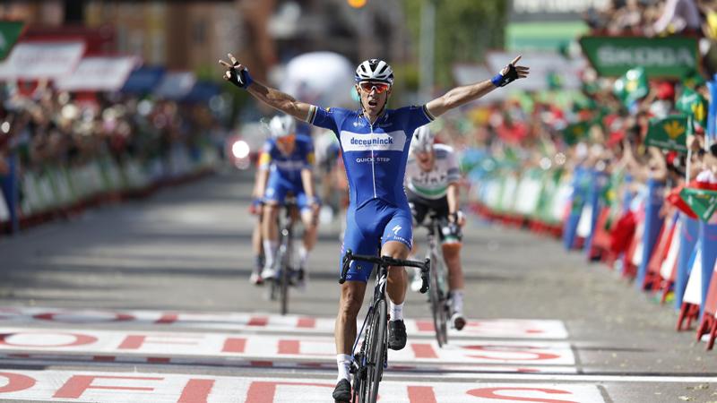 Philippe Gilbert conclut en beauté une étape de la Vuelta un peu folle ! (VIDEO)