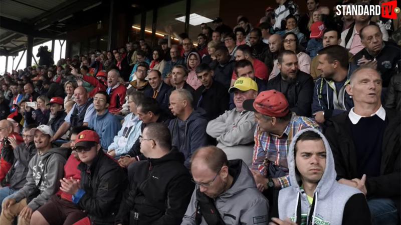 Een buitengewone dag voor meer dan 1000 buitengewone supporters bij Standard de Liège