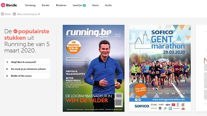 Lees running.be magazine eenvoudig online