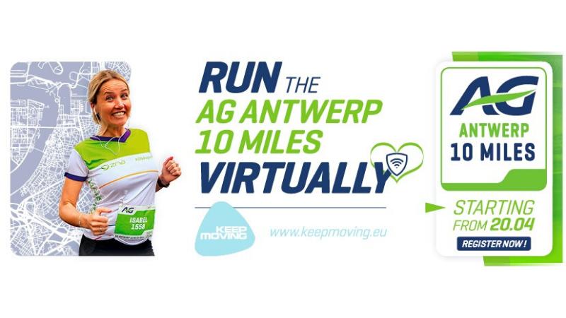 Courez l'AG Antwerp 10 Miles près de chez vous et soutenez le secteur de la santé !