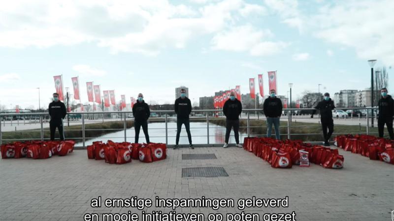 Antwerp laat zijn meest kwetsbare supporters niet in de kou staan (VIDEO)