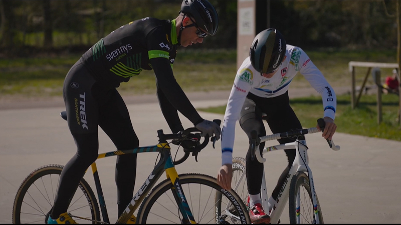 Sven & Thibau Nys geven jeugd tips om te fietsen