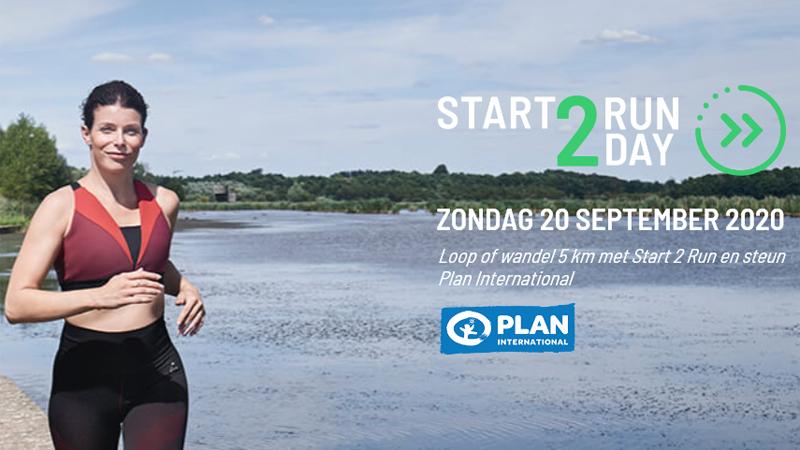 Zondag 20 september wordt Start 2 Run Day