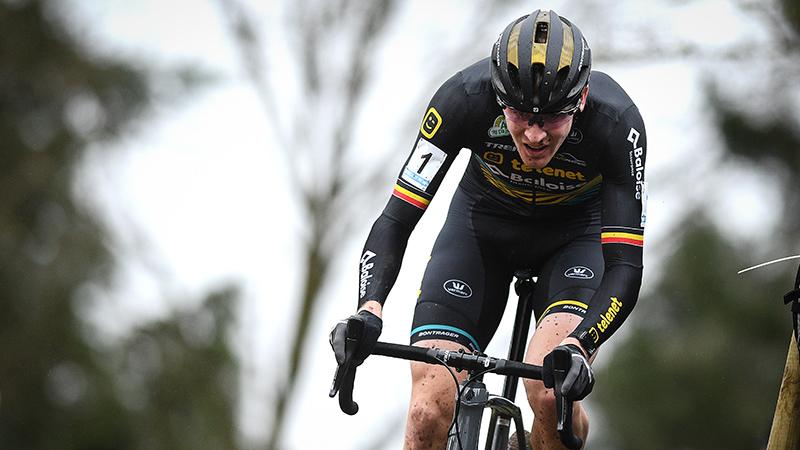 Aerts wint Rectavit GP Leuven in de sprint tegen Vanthourenhout en Van der Haar