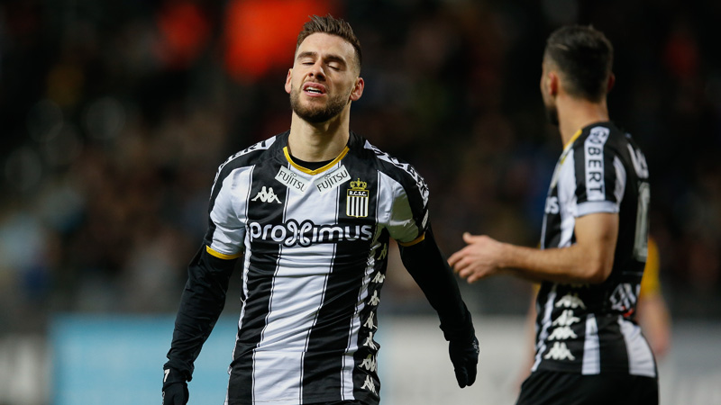 Charleroi terminera la saison sans Bruno