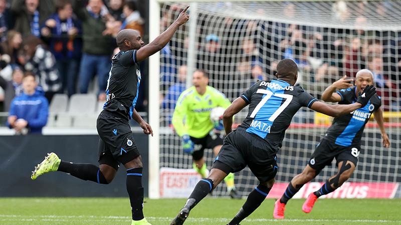 Club Brugge heeft aan 1 goal genoeg tegen Charleroi