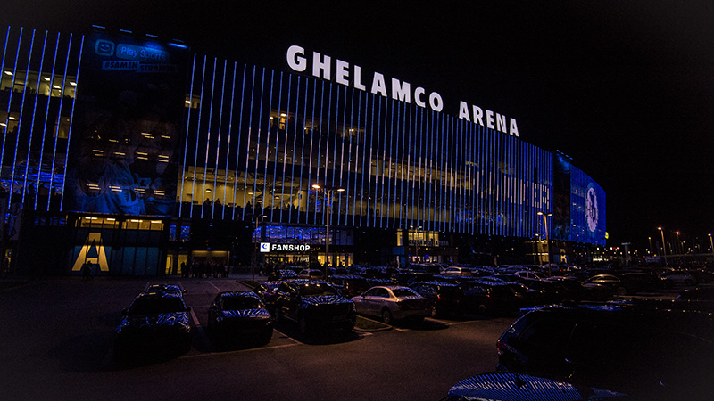 Dak van Ghelamco Arena tijdig hersteld voor duel tussen Gent en STVV