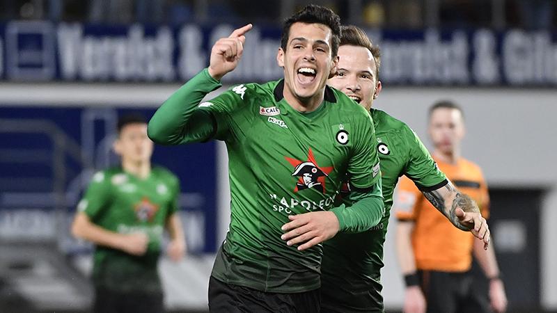 Hoggas zet Cercle Brugge op drie punten van Waasland-Beveren