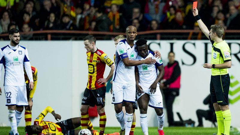 Mechelen wint topper om Play-Off 1 tegen Anderlecht