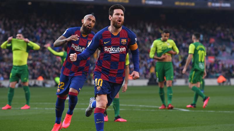 Messi plante un quadruplé ! (VIDEO)