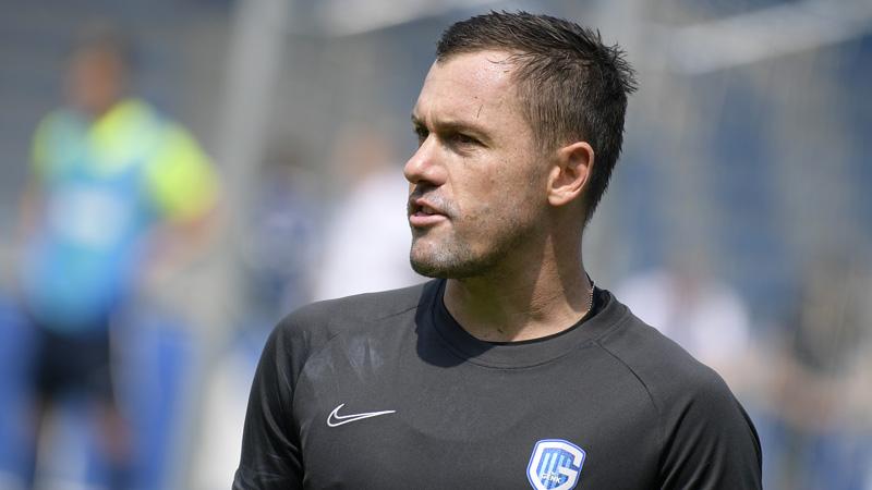 Vukovic a repris l'entraînement sur le terrain