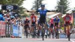 Nizzolo sprint naar zege in vijfde rit, Impey komt aan kop