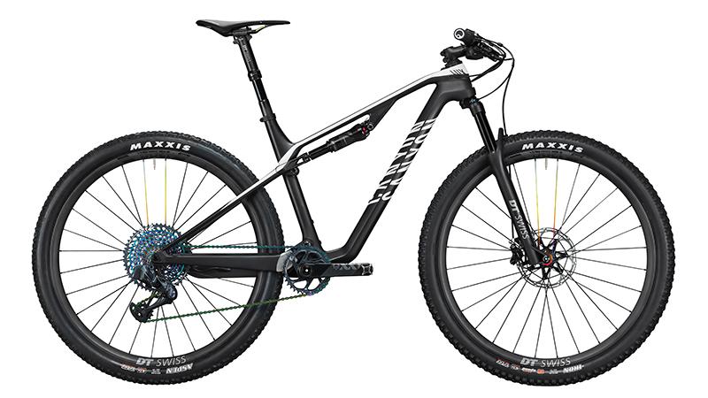 Canyon rust Lux uit met exclusieve DT Swiss-onderdelen (en omgekeerde dropper)