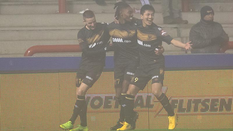 Colidio maître assist offre la victoire au STVV