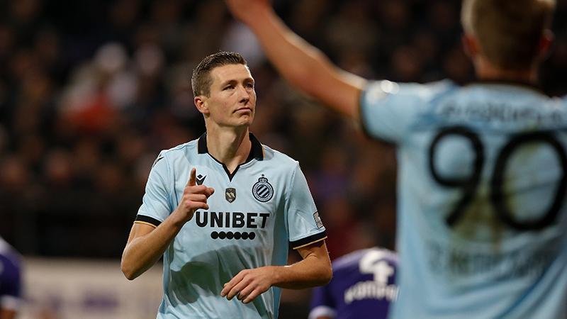 Gouden Schoen Vanaken leidt Club Brugge voorbij verdienstelijk Anderlecht