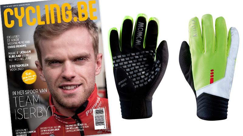 Cadeau voor nieuwe abonnees: Raceviz-winterhandschoenen