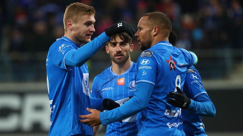 AA Gent houdt punten thuis tegen Moeskroen