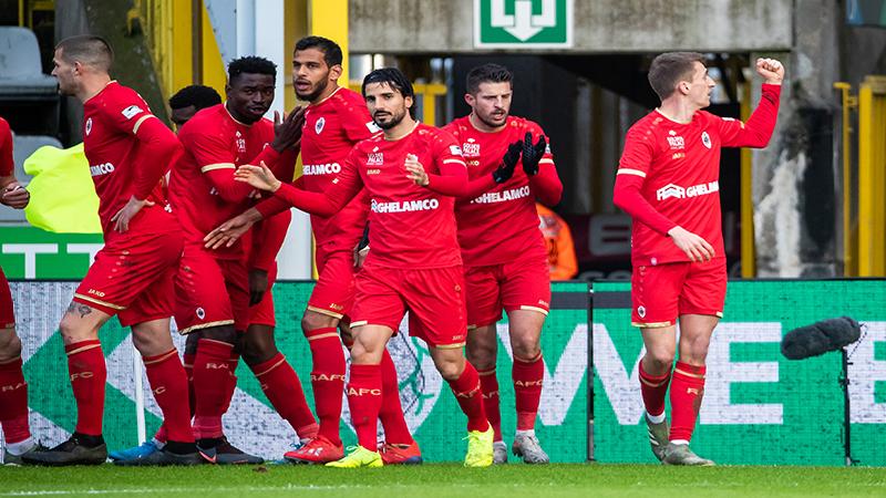 L'Antwerp renverse une situation bien compromise