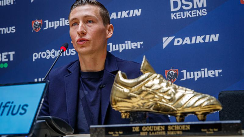 Vanaken: 'Deux Souliers d'Or ne vont pas me changer'