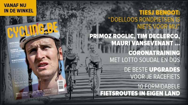 Julinummer cycling.be magazine met Benoot, Roglic, de beste upgrades en meer!