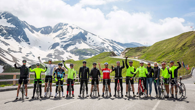 Bedwing met cycling.be de Grossglockner!