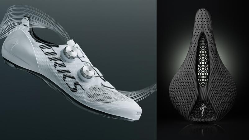 Specialized innoveert met luchtige schoenen, Power Mirror-zadel en meer