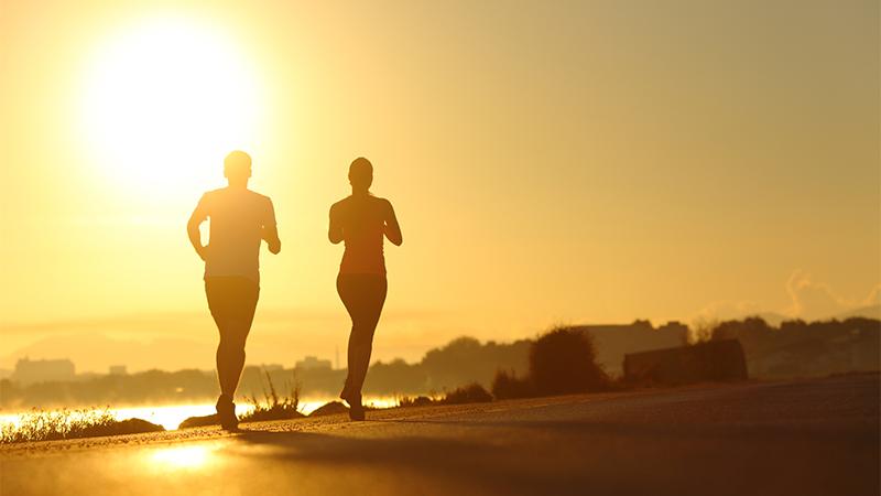 Coach over lopen op warme dagen: 'Splits je trainingen op'