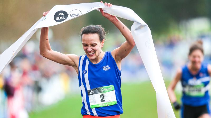 Van Accom championne de Belgique: 'La sagesse vient avec l'âge'