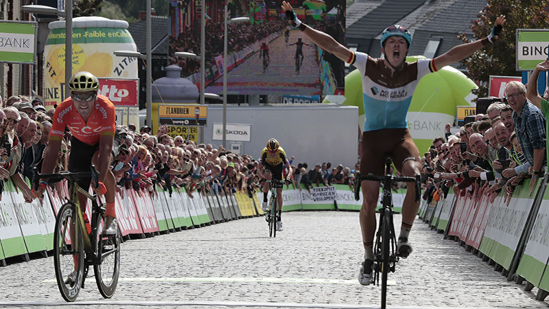 BinckBank Tour will culminate in Geraardsbergen in the next three years