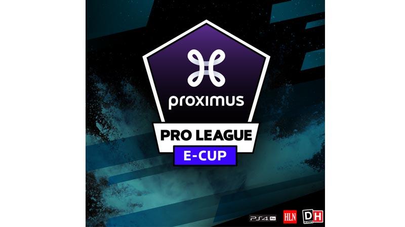 Lancement réussi pour la Proximus Pro League e-Cup avec 1400 inscriptions