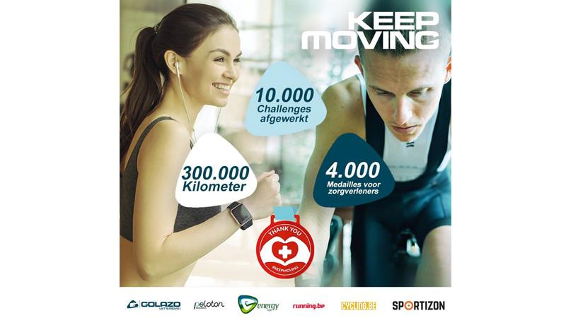 Maar liefst 1750 fietsers reden virtueel de Proximus Omloop van Vlaanderen of AG Driedaagse