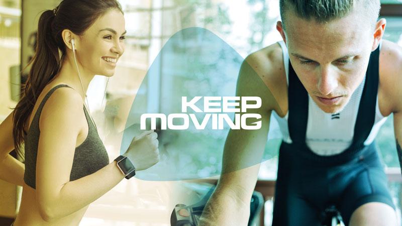 Keep Moving: 3000 sportifs courent virtuellement l'ENGIE Dwars door Dendermonde!