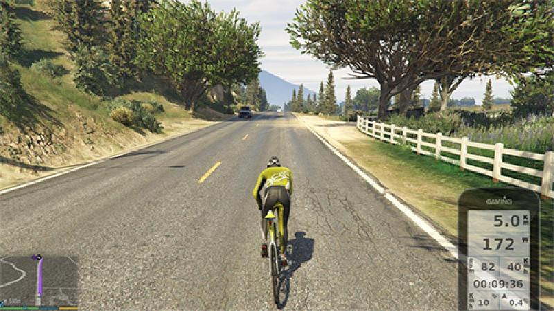 Gamers kunnen nu trainen in Grand Theft Bike V