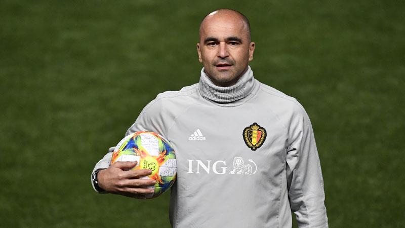 Belgique: Roberto Martinez prolonge son contrat à la tête des Diables Rouges