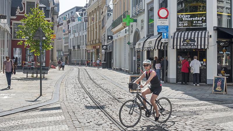 Fietsen in Vlaanderen is aangenaam, maar niet comfortabel